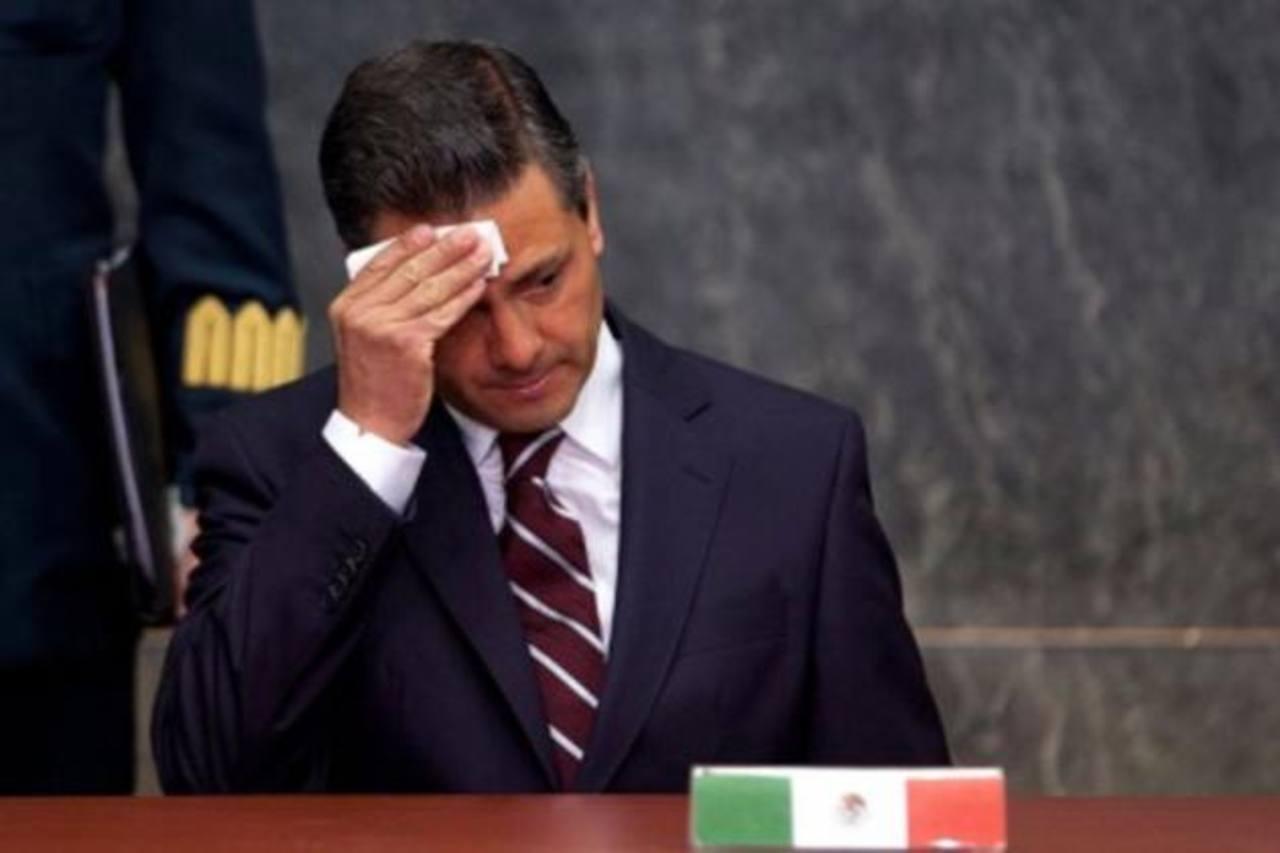 """El presidente Enrique Peña Nieto sostiene que adquirió """"legalmente su casa"""", y que esta está en sus declaraciones patrimoniales. foto edh / archivo"""