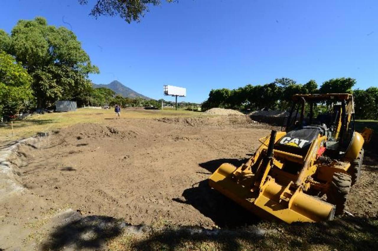 La comuna inició el proyecto deportivo por el que los habitantes dicen que va a cobrar la entrada. Foto edh / Omar Carbonero