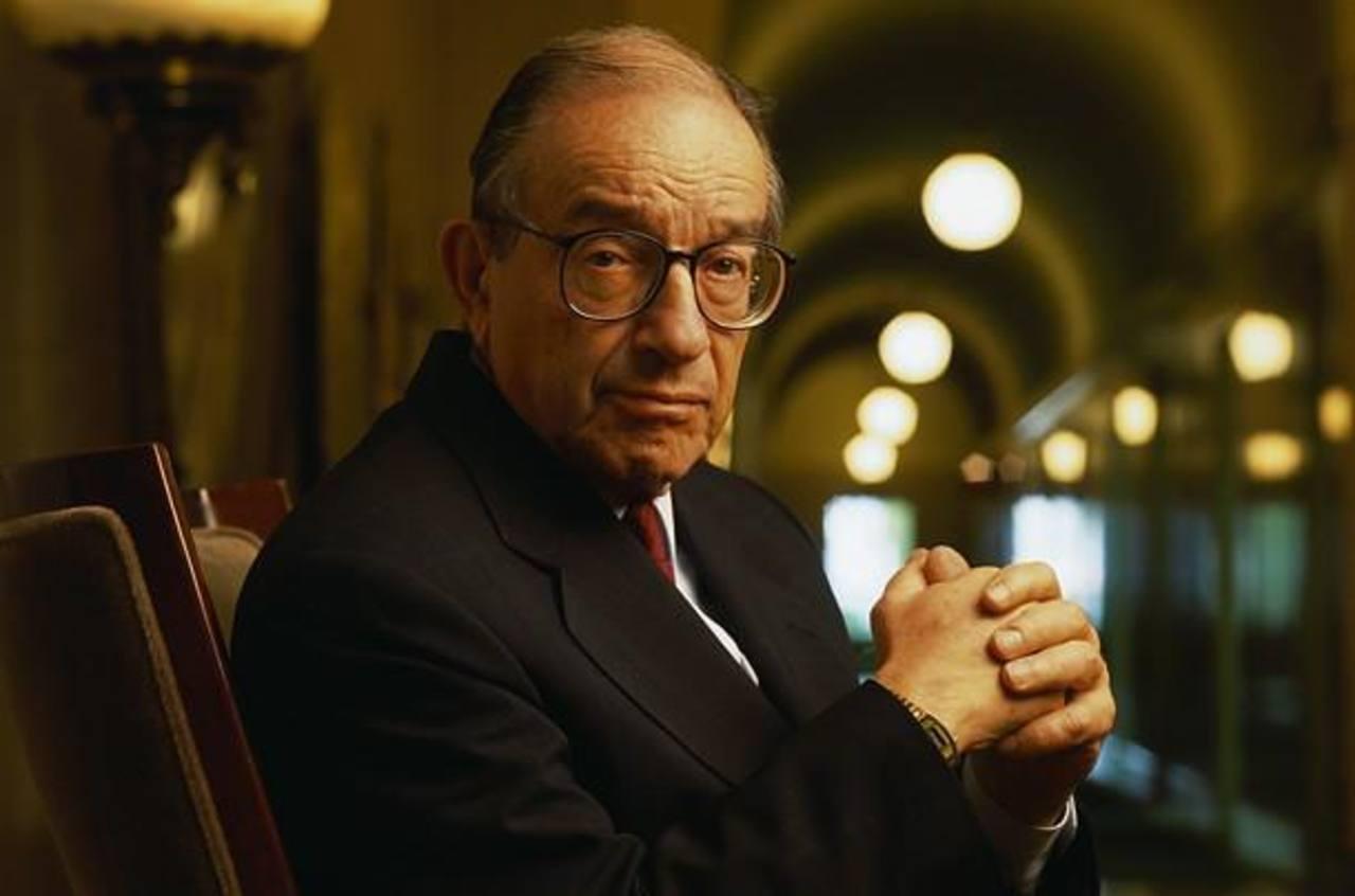 Alan Greenspan fue presidente de la Reserva Federal entre 1987 y 2006. Es uno de los economistas más influyentes.