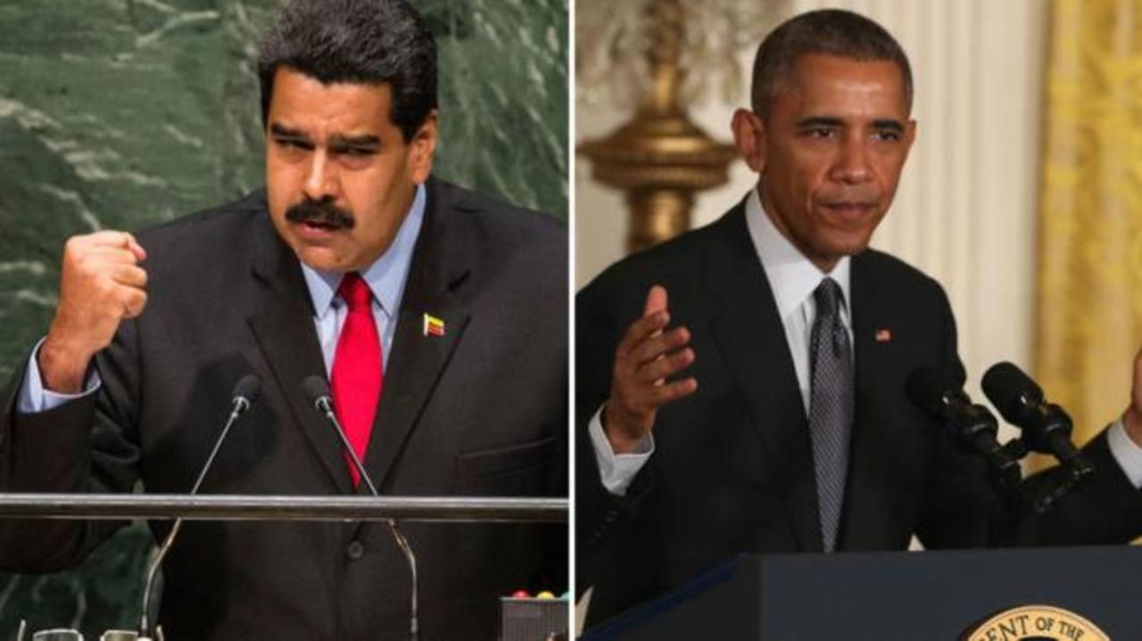 """Maduro pide a Obama que pare las """"conspiraciones"""""""