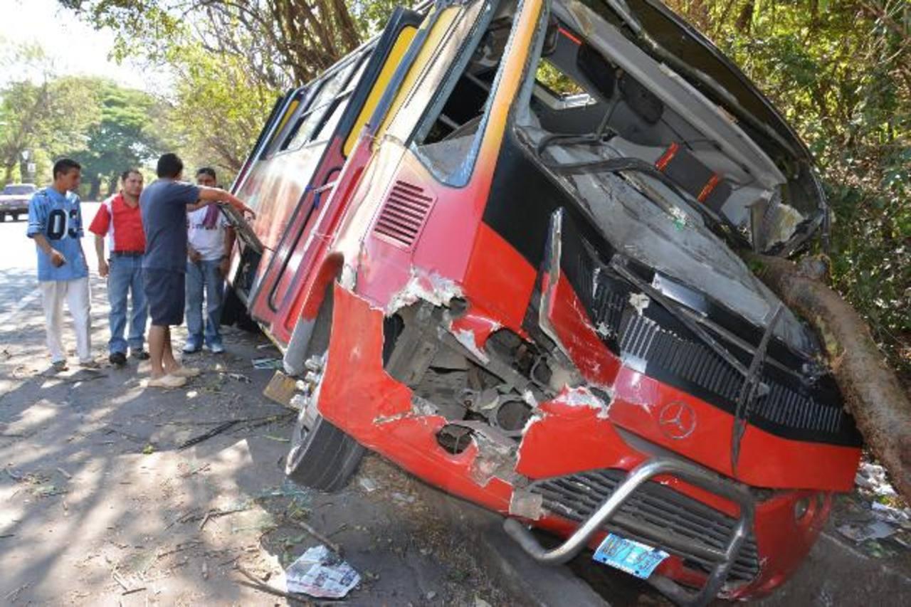 Los accidentes no bajaron a pesar de las sanciones de la PNC.