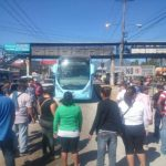 Vendedores protestan por inconformidades con el Sitramss