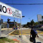 El Sitramss cierra 5 calles y divide capital
