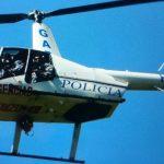 Helicóptero refuerza el patrullaje tras muerte de policía en Sonsonate.