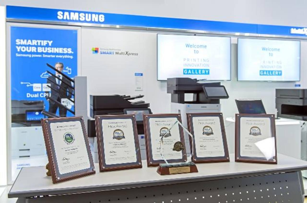 La marca recibió por segundo año consecutivo uno de los premios más codiciados en el ámbito tecnológico. Foto EDH / Cortesía