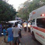 Tres salvadoreños heridos en accidente de tránsito en Guatemala