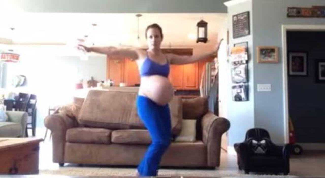 """Video: Mujer embarazada baila """"Thriller"""" para acelarar labor de parto"""