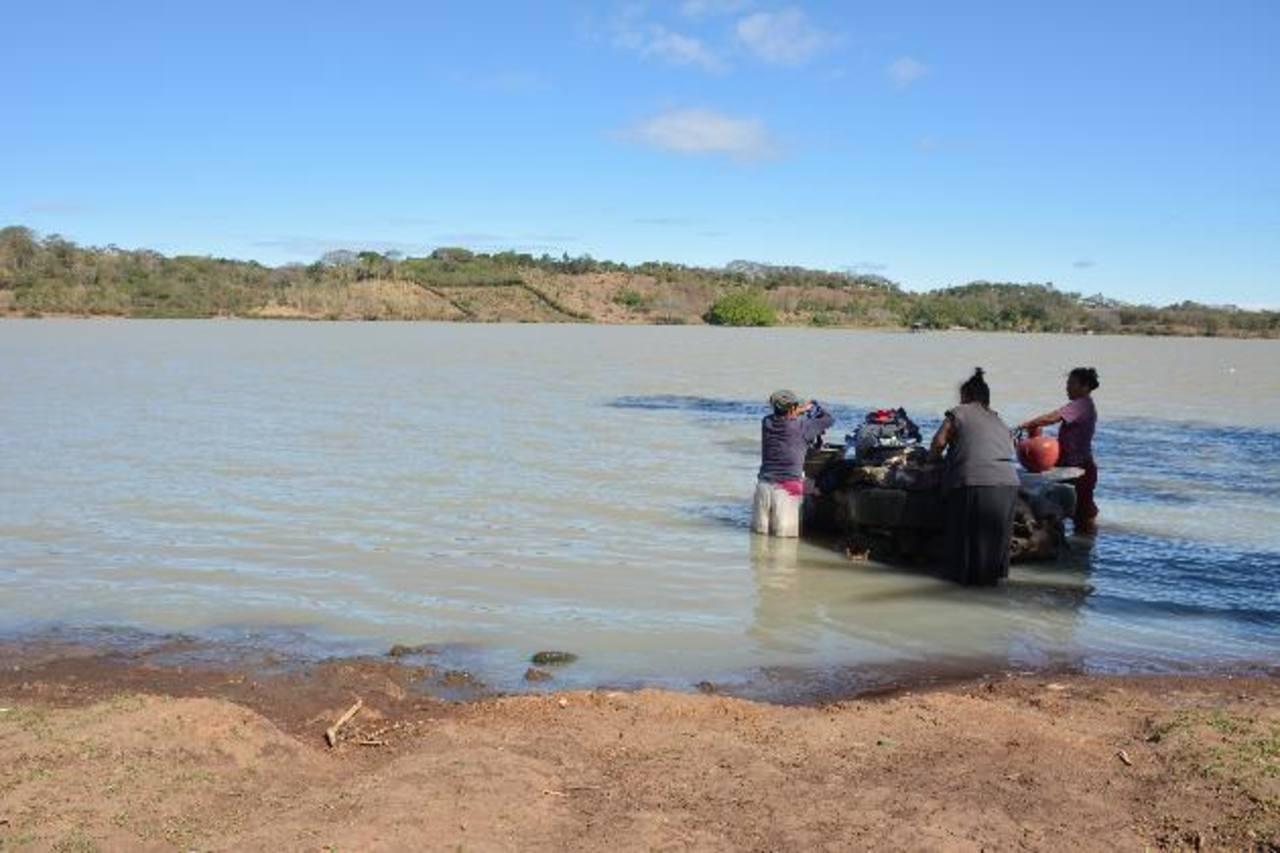 El uso de agroquímicos y aguas negras son parte del problema . Foto EDH / Douglas Urquilla.