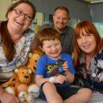 Xavier Hames sufre diabetes tipo 1 desde los 22 meses. Ahora tiene un páncreas artificial, que mejorará su vida.