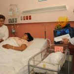 Los primeros bebés de este 2015 en el hospital de Maternidad son mellizos.