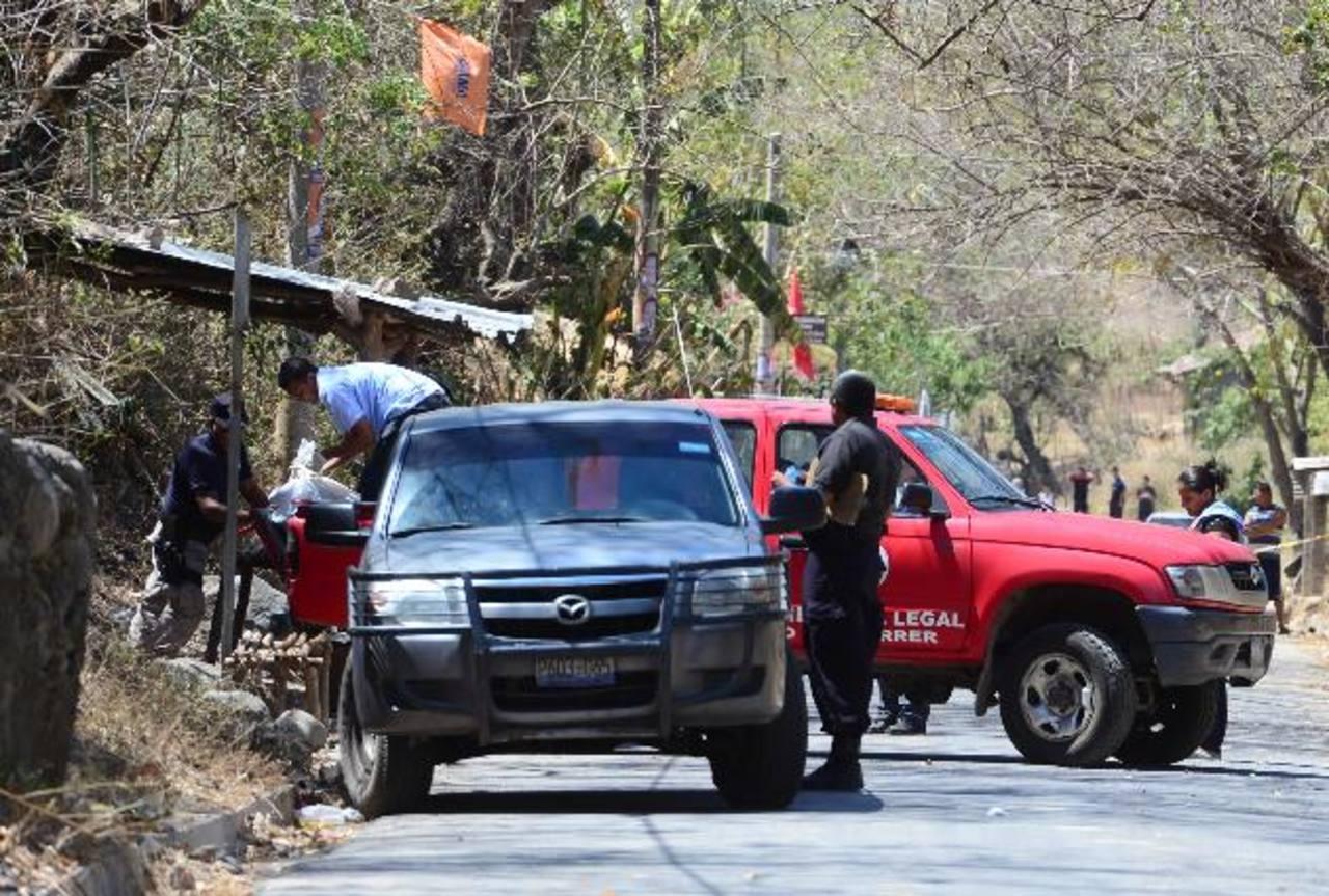 José Félix Rivas, de 39 años, un empleado de maquila fue asesinado cuando iba a su trabajo. Foto EDH / Mauricio Cáceres