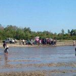 Los cadáveres estaban en la ribera del río Jiboa, cantón El Achiotal, San Pedro Masahuat, departamento de La Paz.