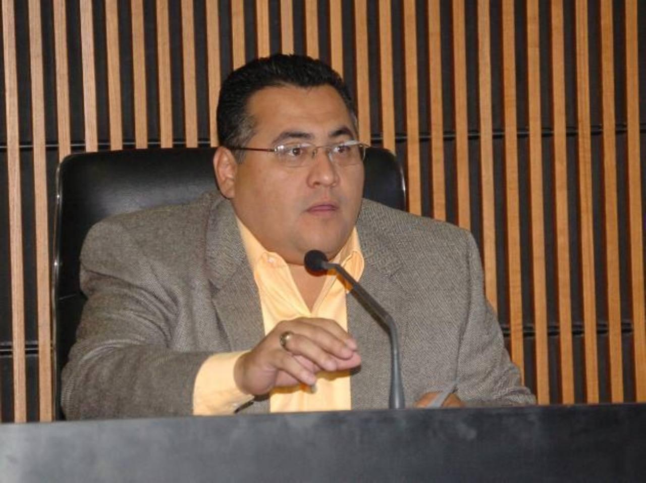 Juez Levis Italmir Orellana del Primero de Instrucción