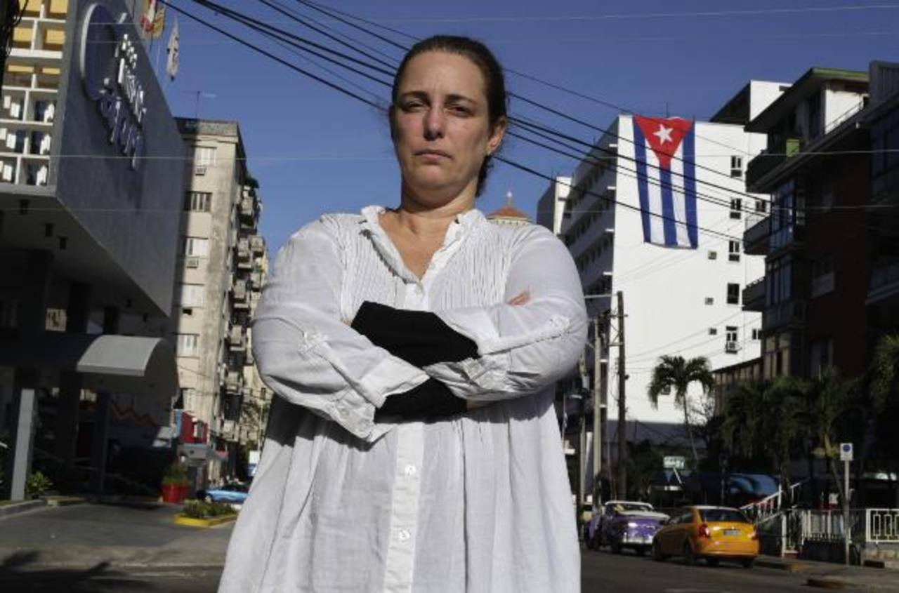 Bruguera fue arrestada el martes, liberada el miércoles y apresada de nuevo el jueves. foto edh / archivo