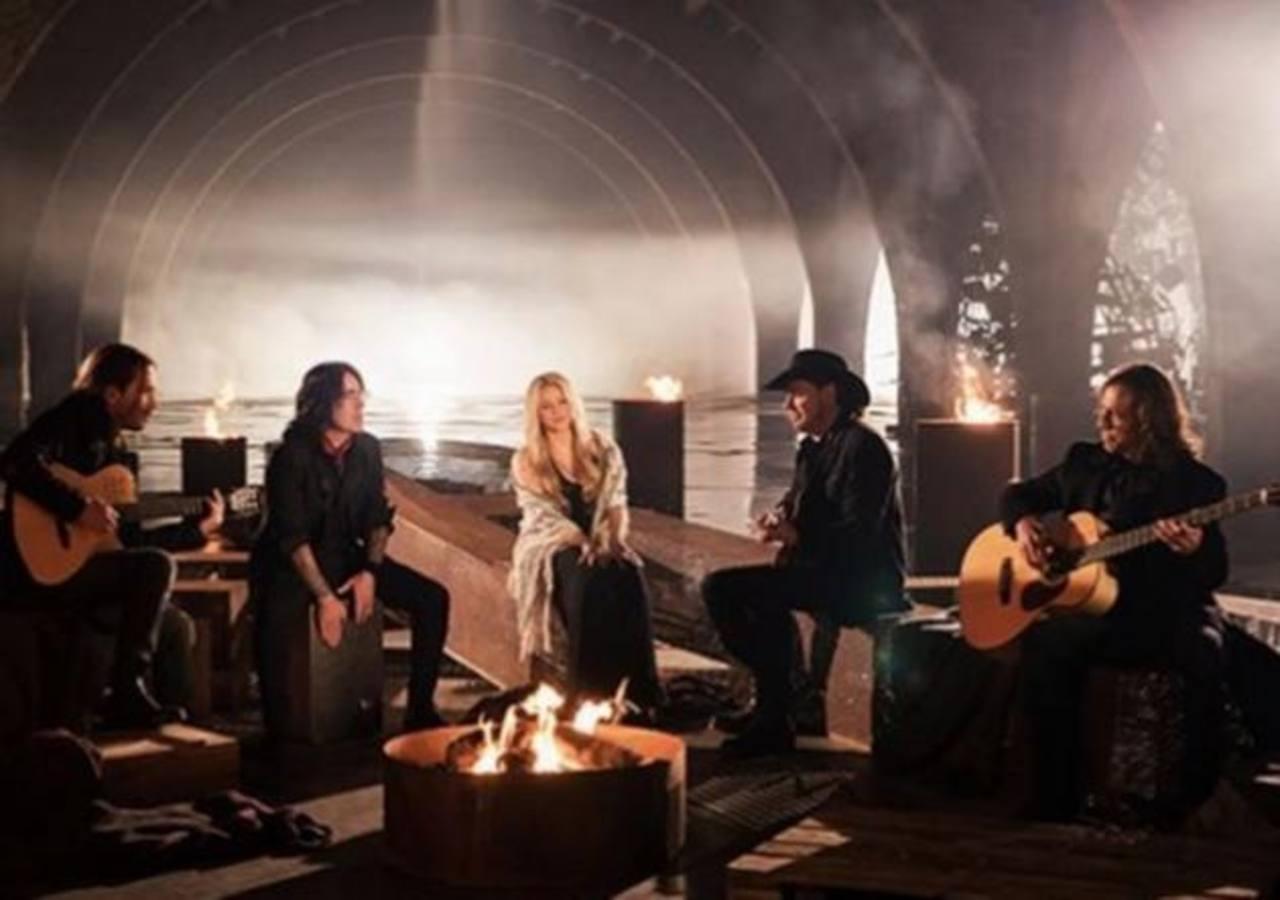 Maná presenta video de su nuevo tema a dúo con Shakira
