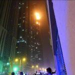 VIDEO: Se incendia en Dubái uno de los edificios más altos del mundo