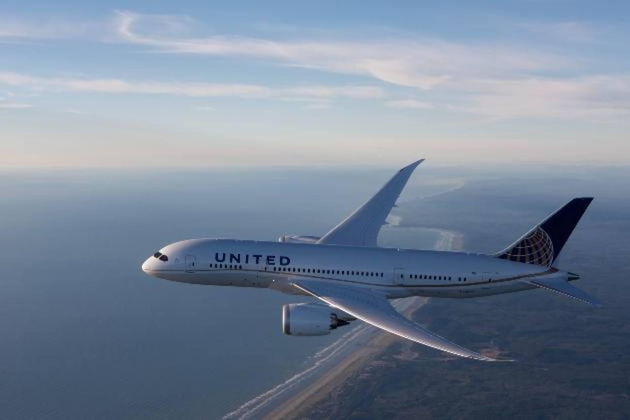 """United Airlines fue nombrada """"Aerolínea del Año"""" por Global Traveler. FOTO EDH/ Cortesía"""