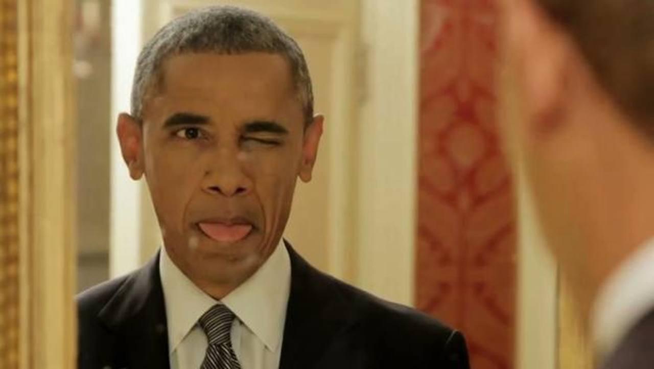 Video ¿Qué hace Obama cuando nadie lo ve?