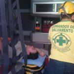 Comandos de Salvamento atendió a varias de las víctimas.