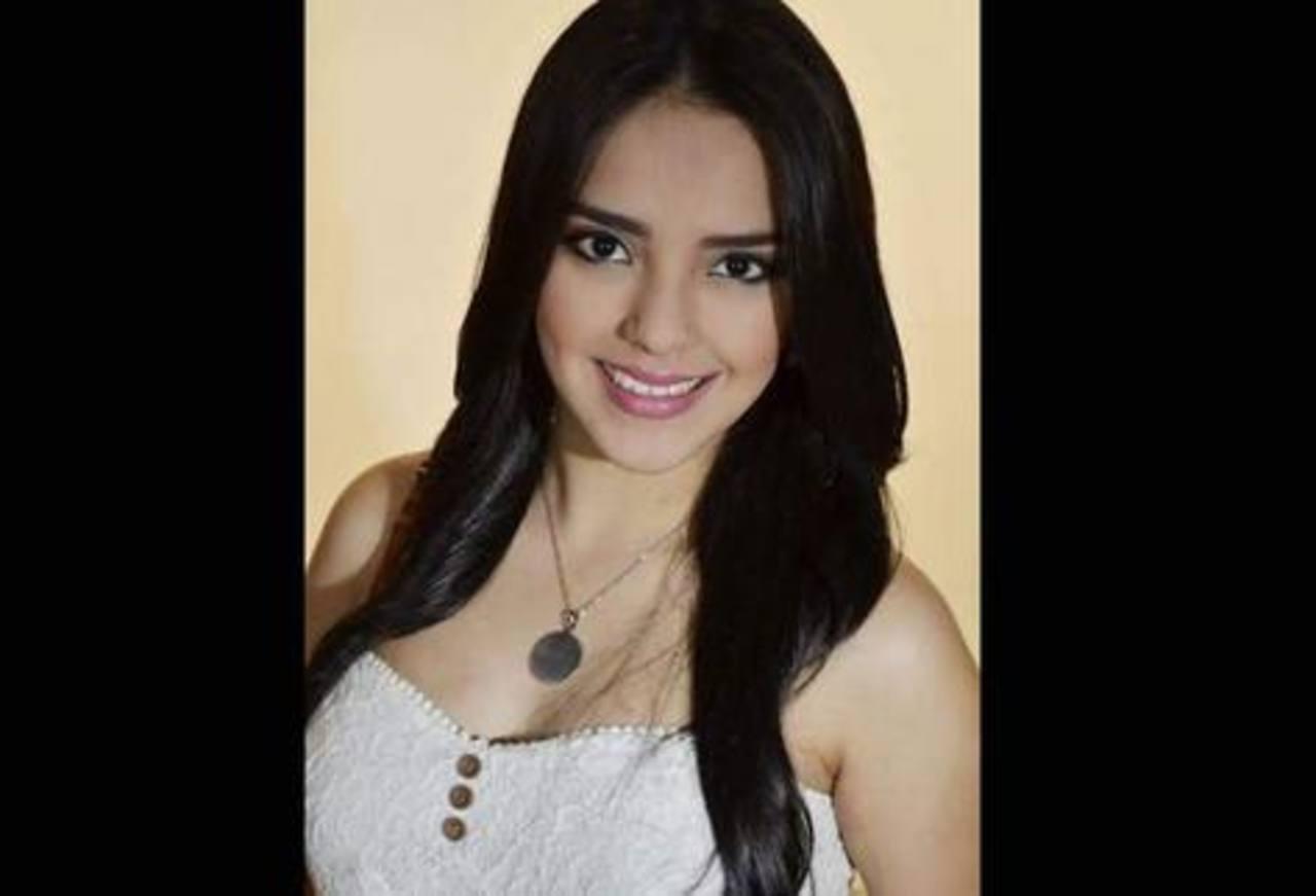 La periodista hondureña.