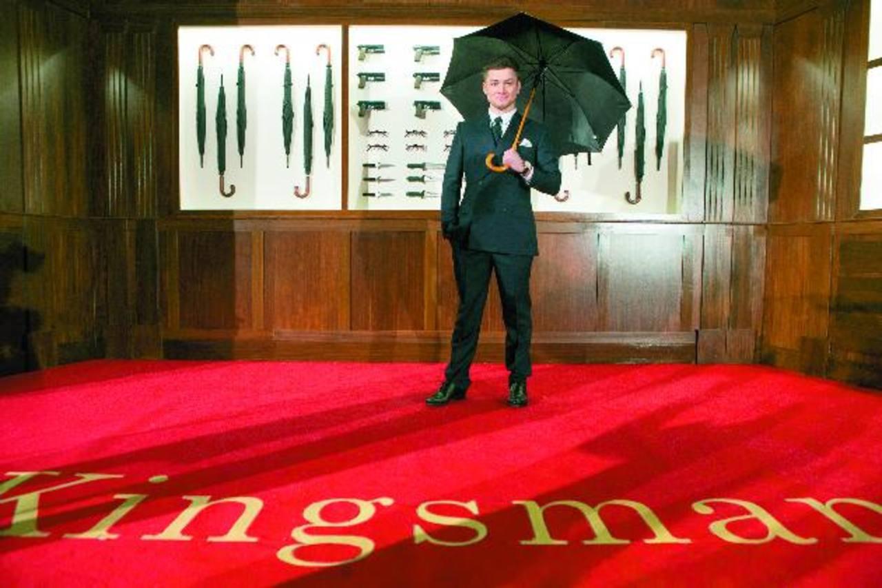 "Taron Egerton: ""Aprendí a ser un caballero del espionaje"""