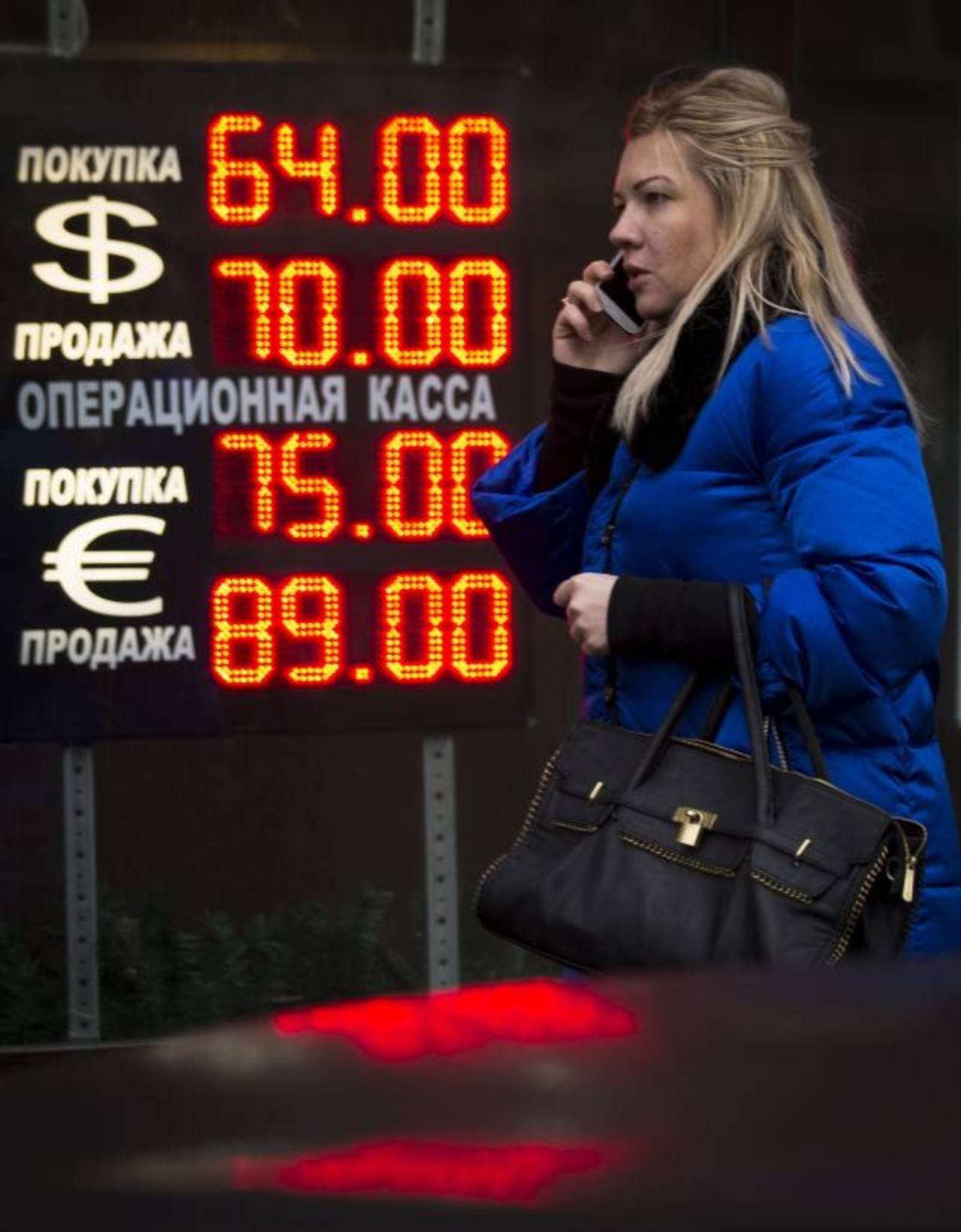 La depreciación del rublo y la crisis con Ucrania han afectado de gran manera el desempeño económico de Rusia en el bloque de países. Foto edh / Archivo