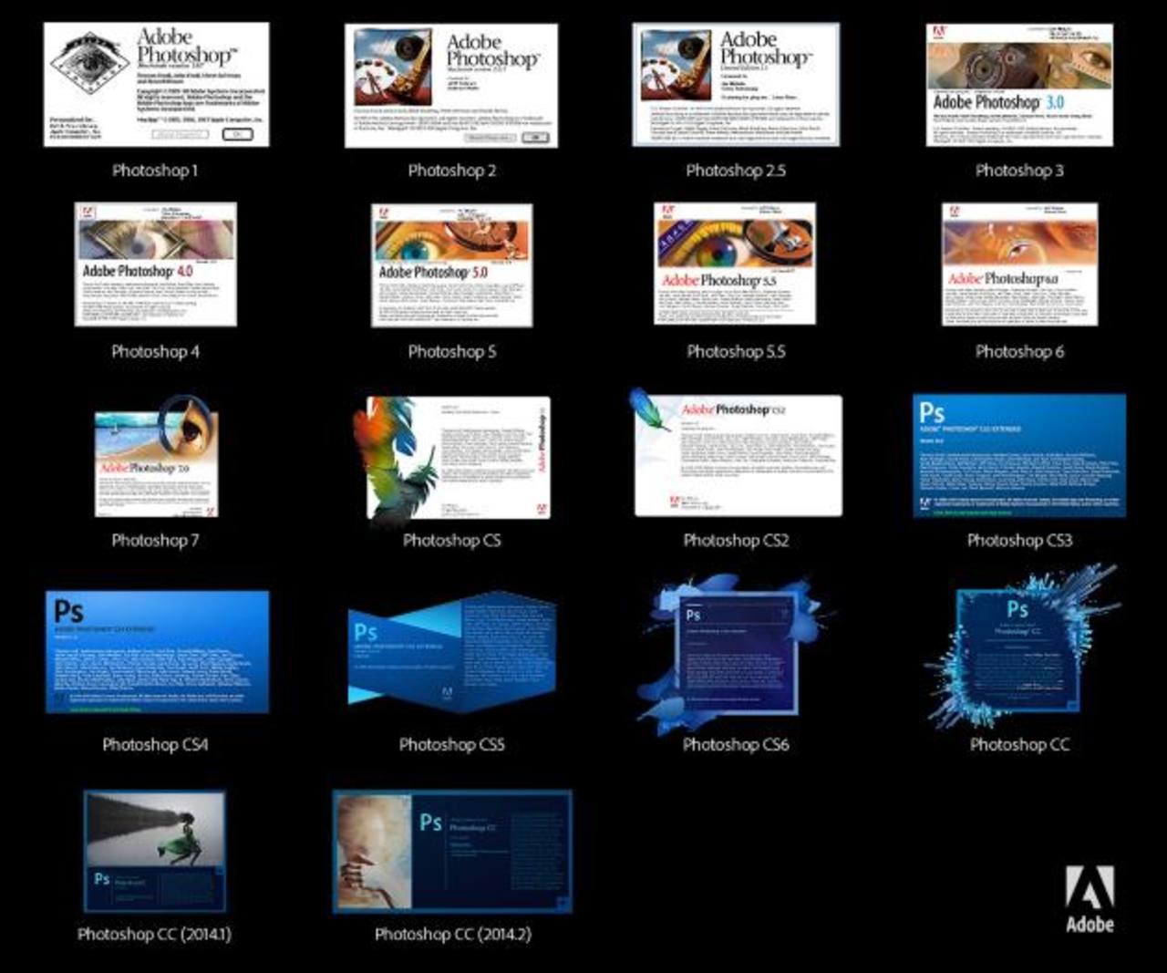 Adobe Photoshop se desarrolló en 1990 por los hermanos Kholl. foto edh