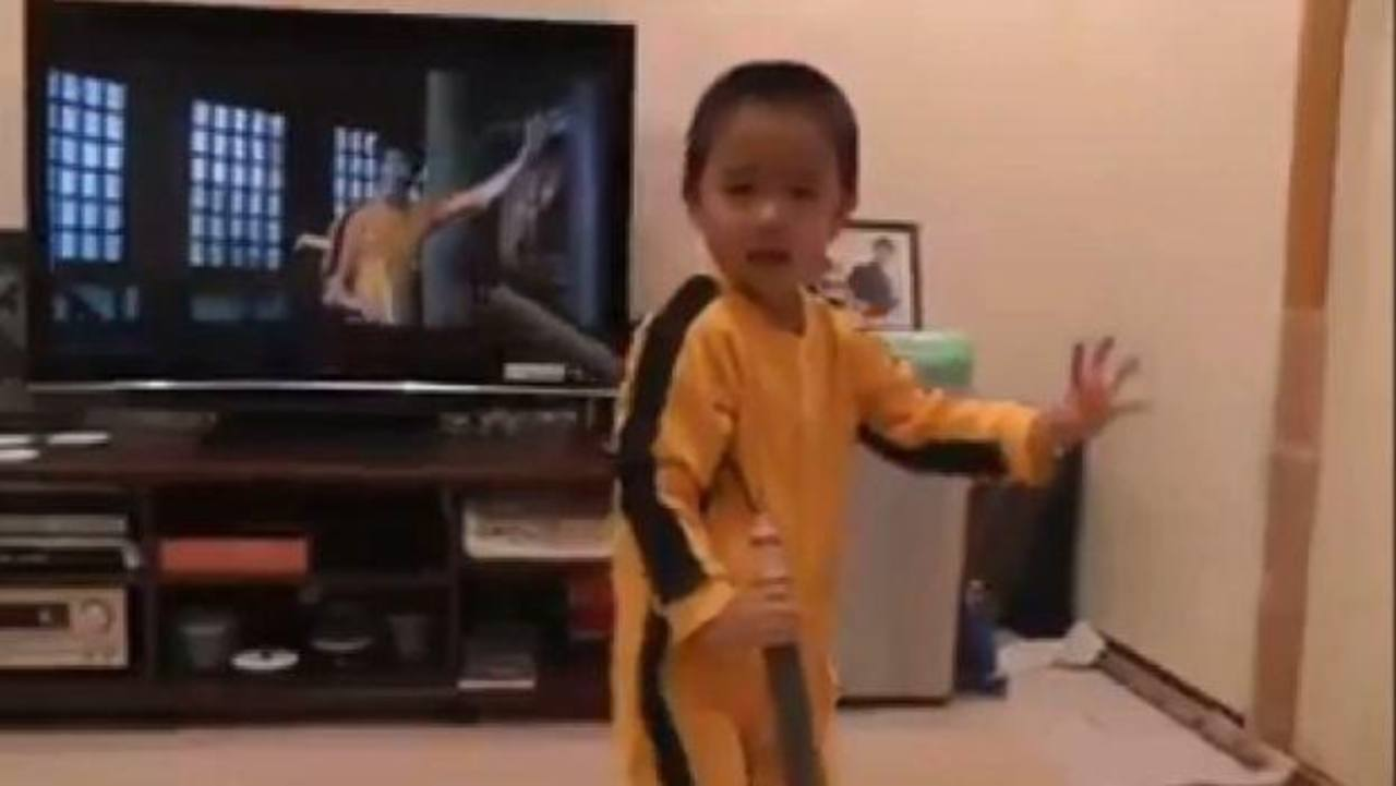 VIDEO: ¿La reencarnación de Bruce Lee?
