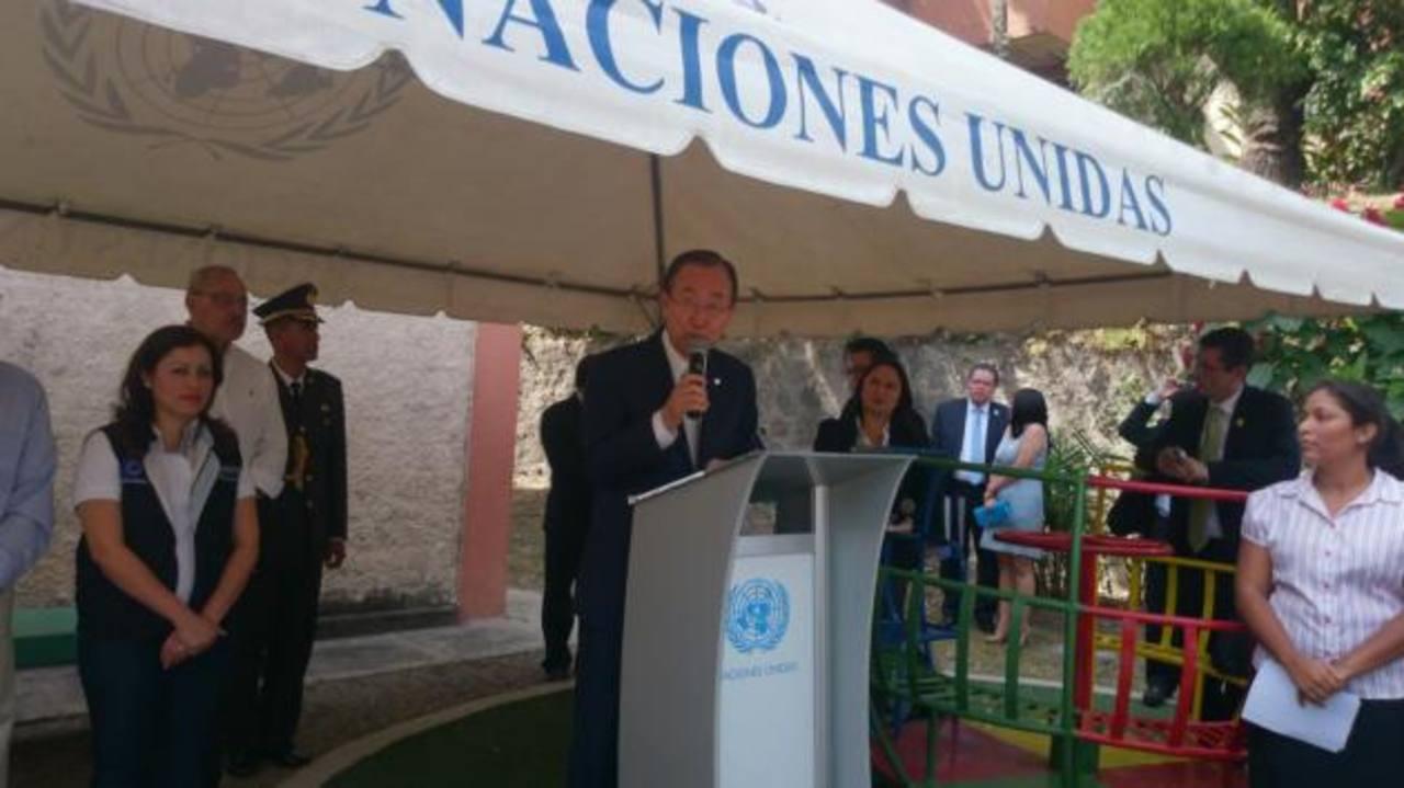 La ONU cooperará con $70 millones para sitios más violentos en El Salvador