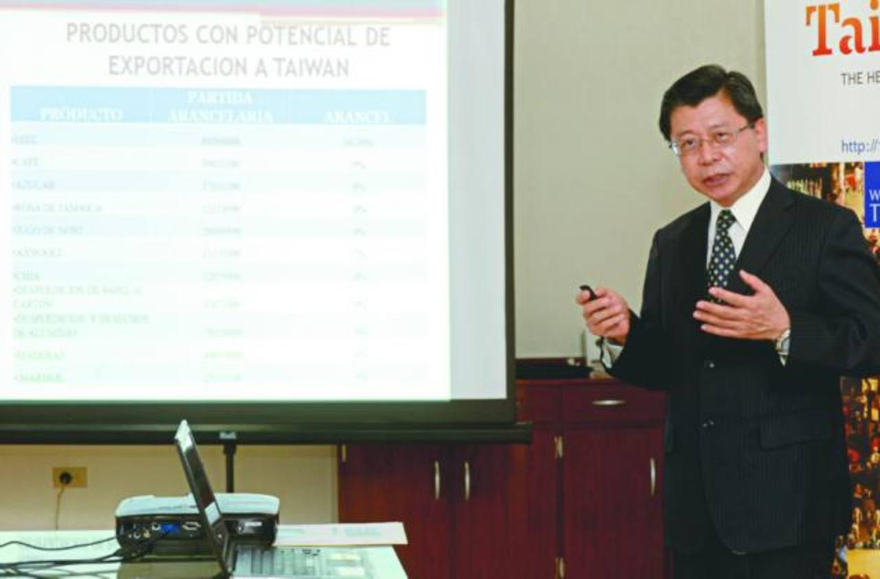 Embajada de China, Taiwán, presentó las proyecciones comerciales 2015. Foto EDH/ l. González