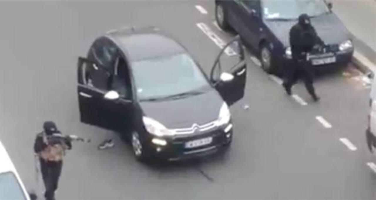 VIDEO: Momento del tiroteo en que murieron 12 personas en medio francés