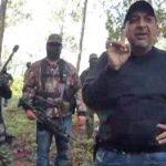 Servando Gómez Martínez, de rostro descubierto