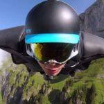 Video: Graba su impresionante vuelo entre montañas de Suiza