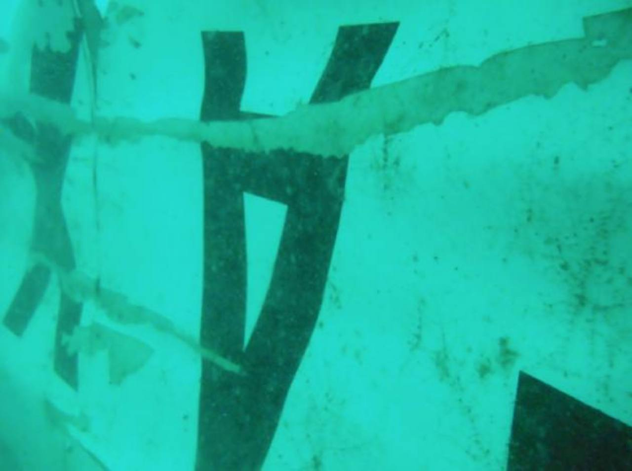 Hallan la cola del avión de AirAsia en el mar de Java