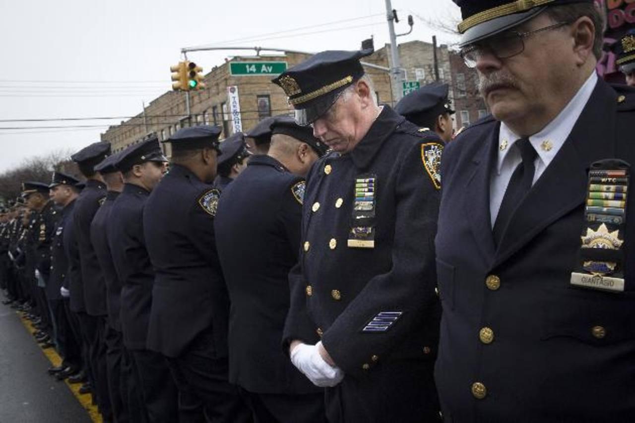 Los agentes neoyorquinos volvieron a darle la espalda al alcalde Bill de Blasio.