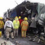 Catorce muertos y 19 heridos en accidente en México