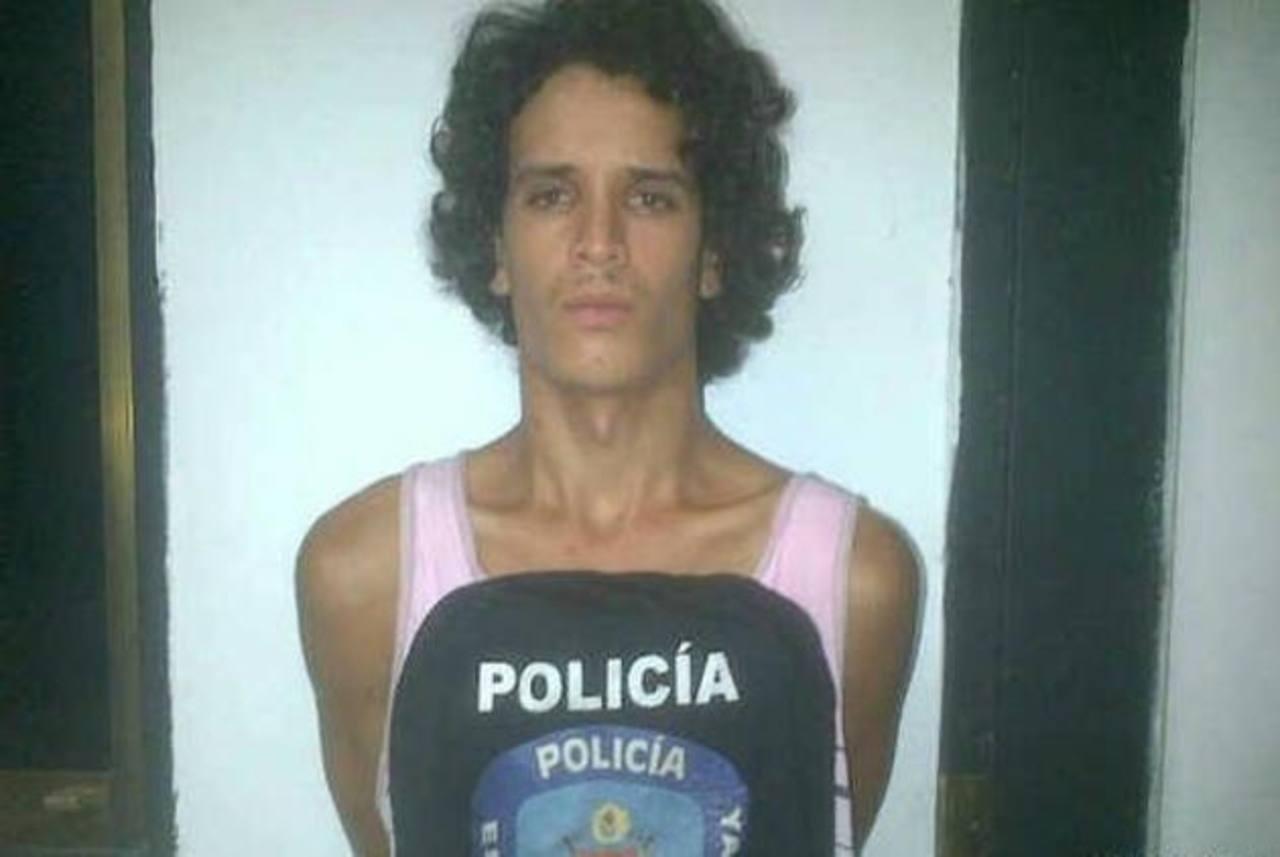 El periódico El Universal de Venezuela publicó esta foto de Gerardo José Contreras, alias El Gato.