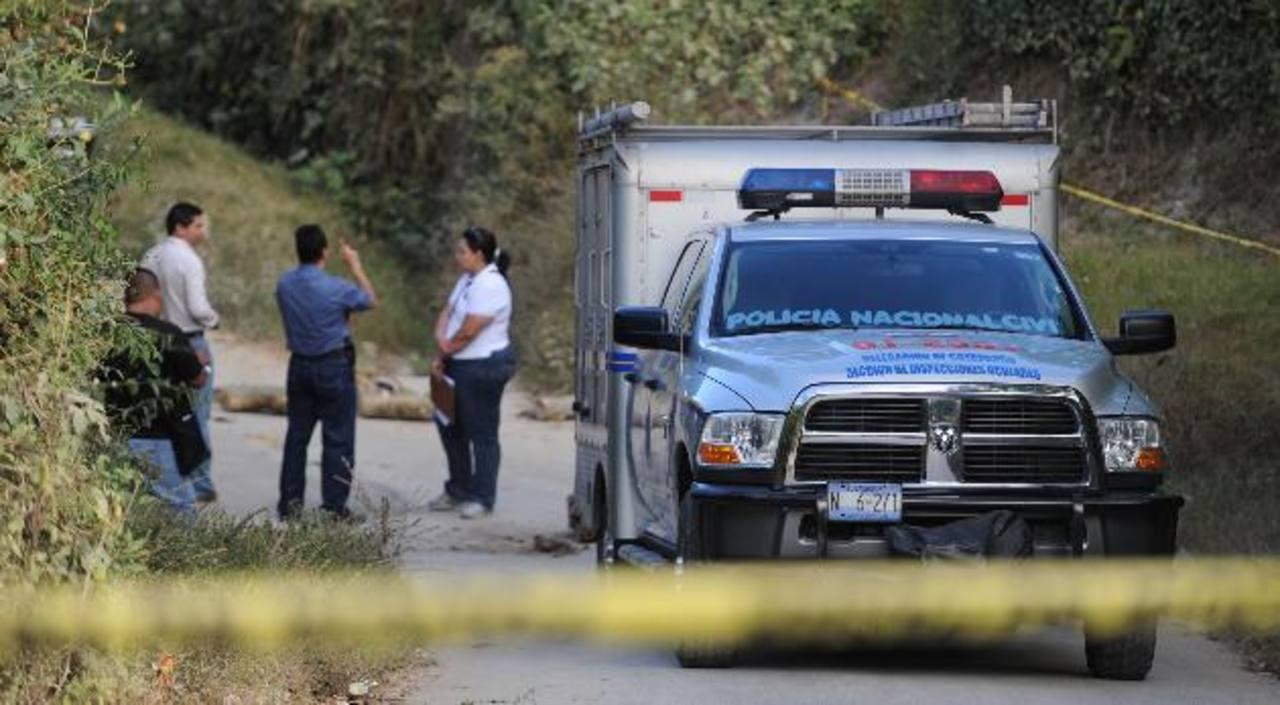 Un miembro del PPI fue emboscado el 13 de enero en la calle al cantón San José Primero de San José Guayabal, en Cuscatlán. El agente se defendió y mató a uno de los atacantes. Foto EDH / Archivo