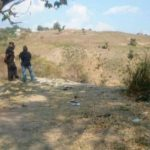 Los cadáveres de los dos supuestos pandilleros fueron recuperados de un río en Apopa.