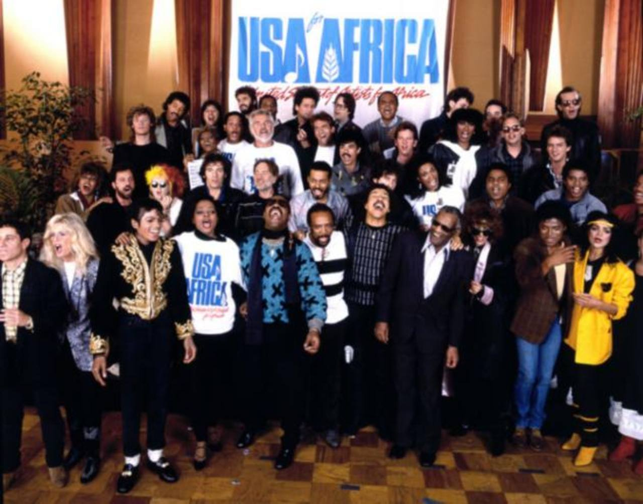 """VIDEO: """"We Are the World"""" cumple 30 años"""