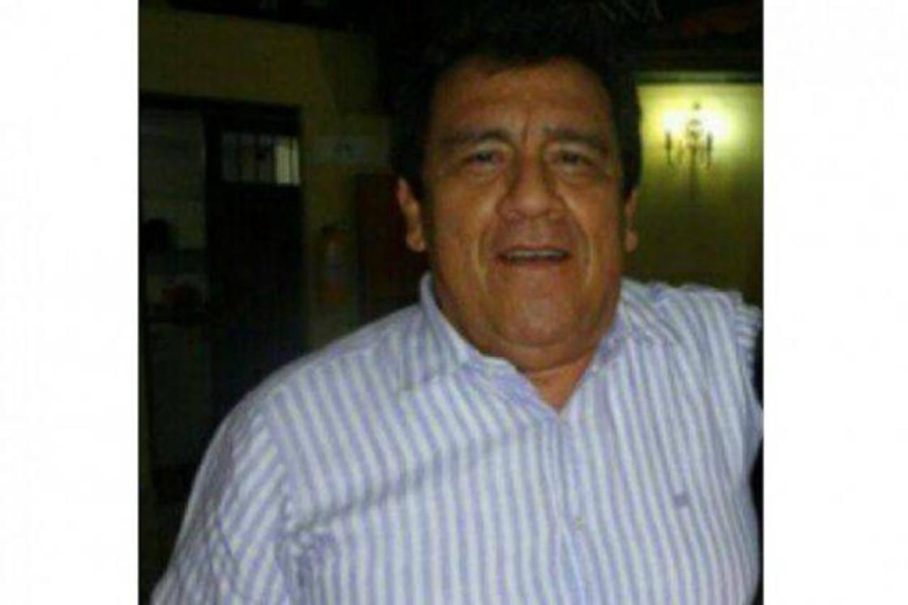 Luis Peralta Cuéllar, director y propietario de un emisora.