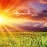 El calor que transmite la luz del sol también es un ejemplo de radiación.