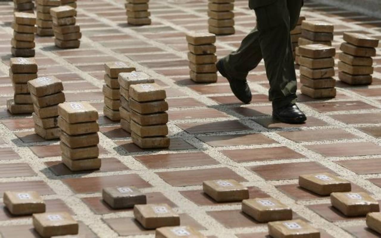 Decomisan una tonelada de cocaína en el Caribe colombiano