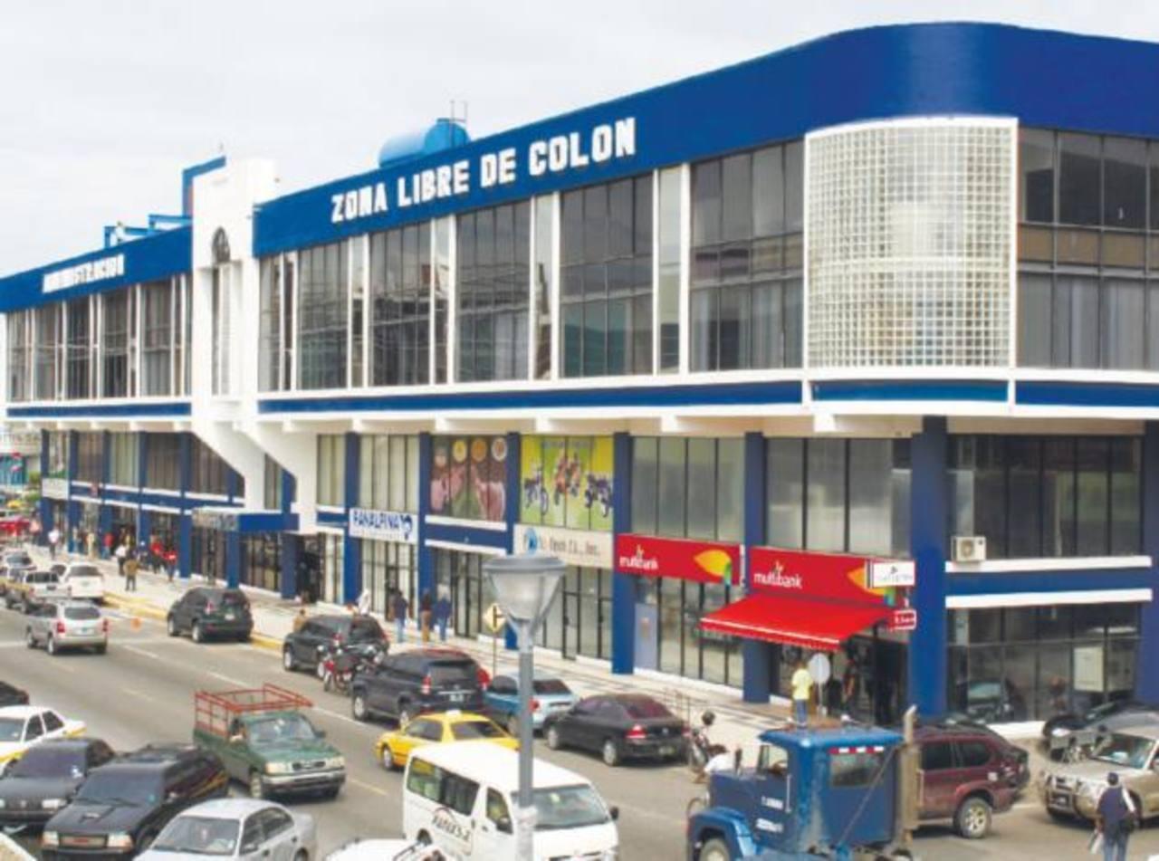 La Zona Libre de Panamá fue uno de los puntos de mayor auge comercial durante mucho tiempo. foto edh / archivo