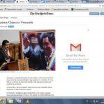 NYT criticó las conspiraciones del chavista. foto edh / internet