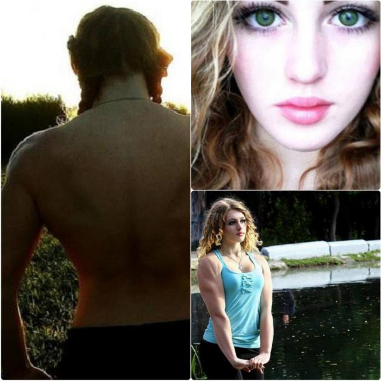 Julia Vins, la chica con bello rostro y cuerpo de superhéroe