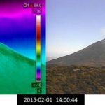 Volcán Chaparrastique continúa emanando gases