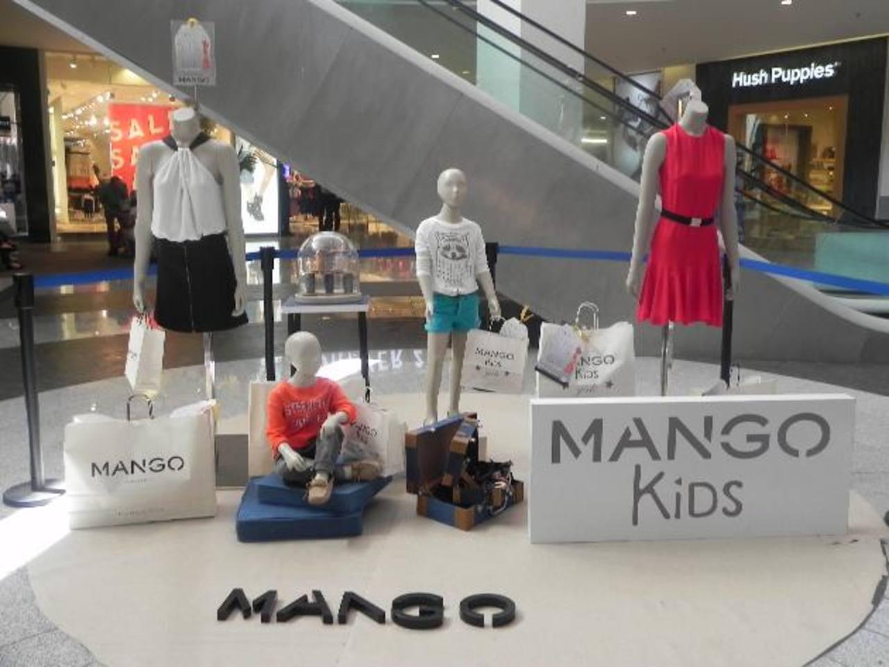 Los productos de Mango para damas y niños contarán con un 50 % de descuento este mes. FOTO EDH/ Cortesía