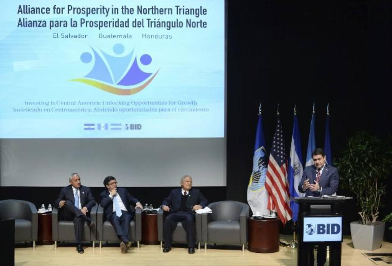 La Alianza para la Prosperidad es una iniciativa para fortalecer el desarrollo social y económico del Triángulo Norte. foto edh /