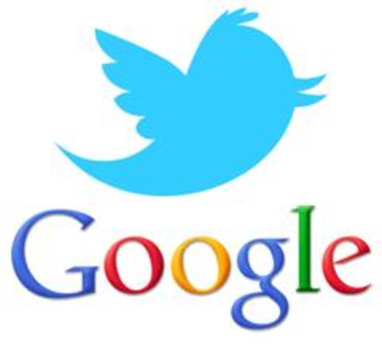 Los tuits se verán en Google a mediados de este año.